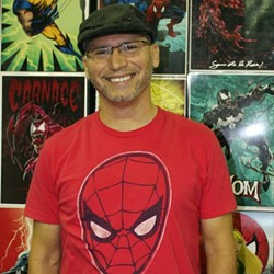 San Antonio-based comic book artist Sam de la Rosa. - COURTESY