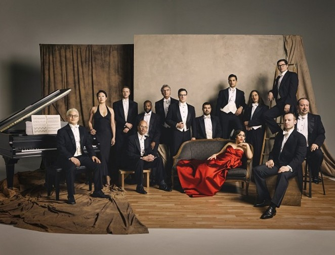 Pink Martini is way more accessible than this picture indicates. - PHOTO CREDIT: CHRIS HORNBECKER