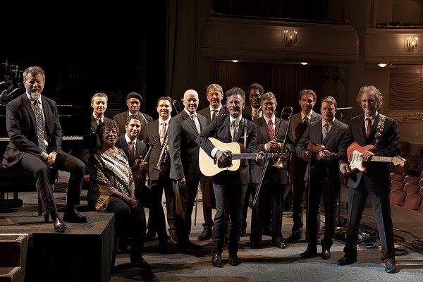 LYLE LOVETT AND HIS LARGE BAND, COURTESY