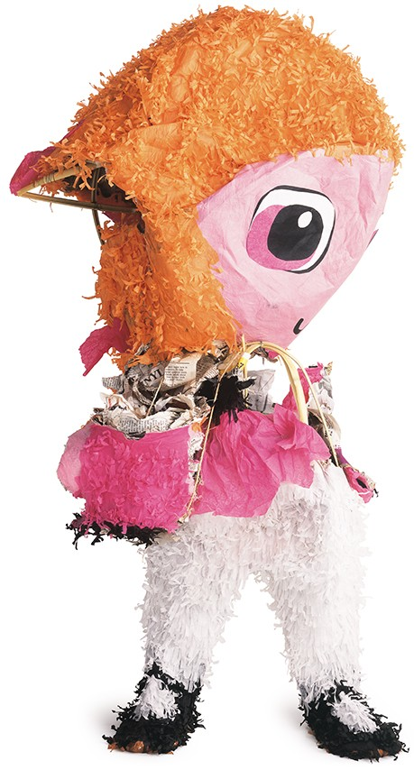 CHUCK RAMIREZ, PIÑATA SERIES, MONTANA, 2002, LINDA PACE FOUNDATION COLLECTION