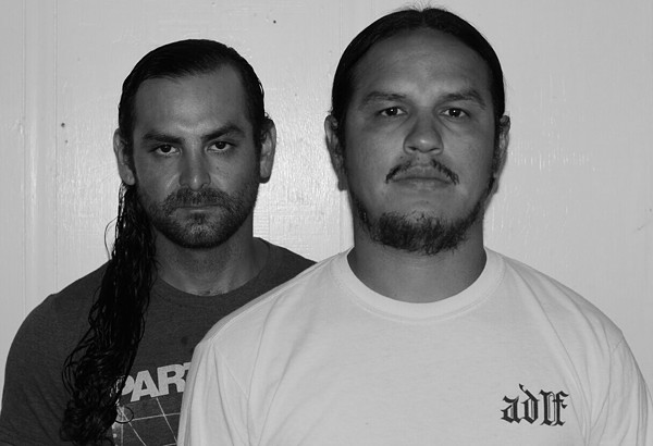 The last original members of With All Sincerity Greg Rivera (left), Adolf Acosta (right) - COURTESTY OF WAS