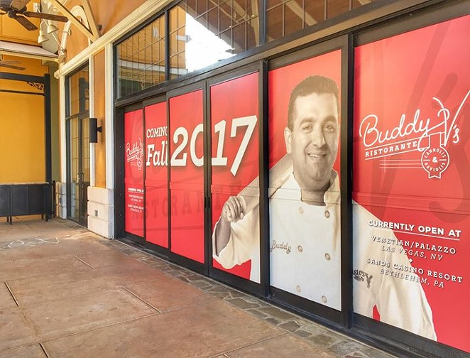 Buddy V's is coming to SA -  FACEBOOK/THE SHOPS AT LA CANTERA
