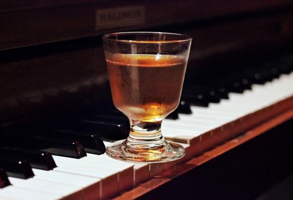 Manhattan cocktail. -  INSTAGRAM/@DRINKING.IN.SA