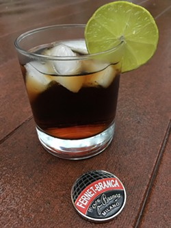 HOMEMADE FERNET & COKE