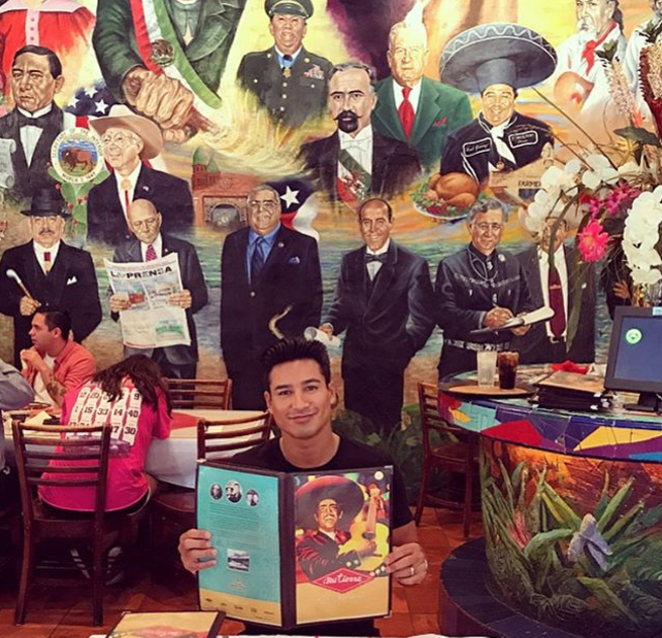 PHOTO VIA INSTAGRAM, MARIOLOPEZEXTRA