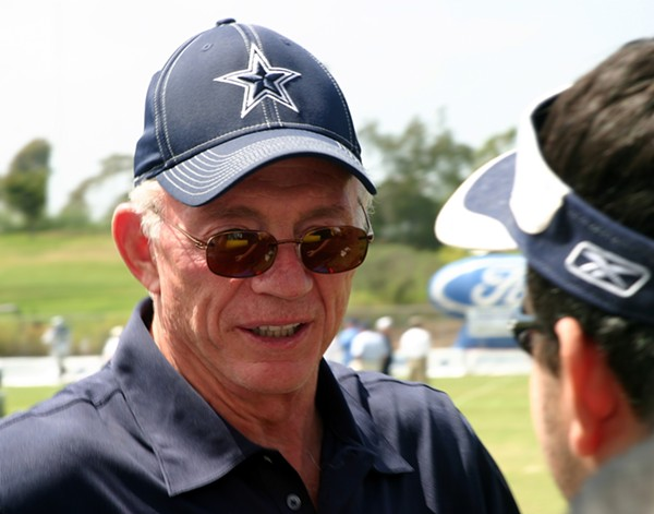 Jerry Jones - SHUTTERSTOCK