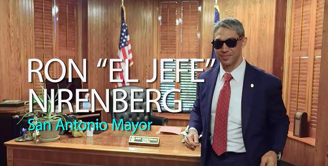 Mayor Ron Nirenberg - SCREENSHOT VIA FACEBOOK, JUANY TORRES