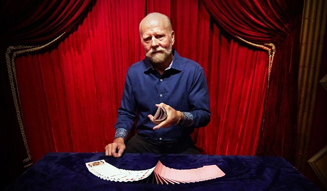 Richard Turner started going blind at the age of nine when he contracted scarlet fever. The documentary Dealt explores his life and career as a card magician. - SUNDANCE SELECTS