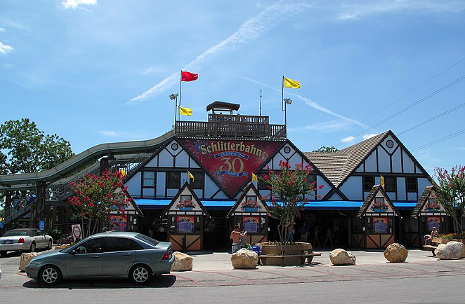 Schlitterbahn's New Braunfels location - WIKIMEDIA COMMONS