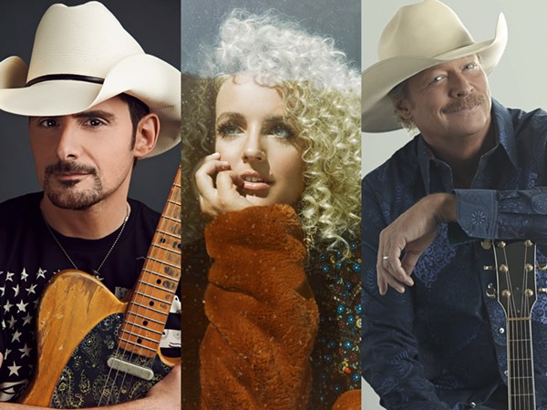 (L-R) Brad Paisley, Cam, Alan Jackson - COURTESY PHOTOS