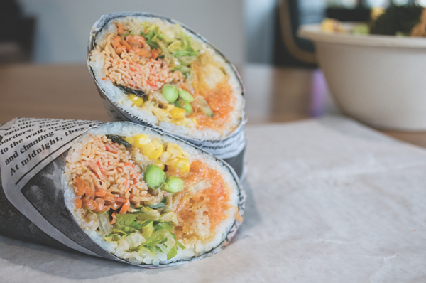 Rolling Fish Sushirrito and Poké - LAUREN DE HOYOS