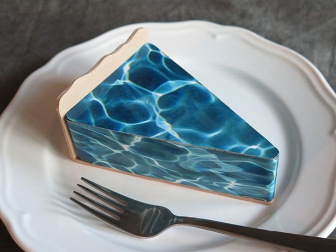 SLICE OF WATER PIE