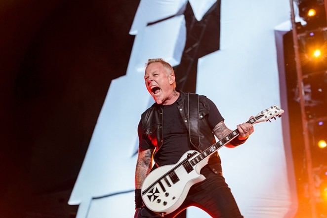 James Hetfield, obviously - JAIME MONZON