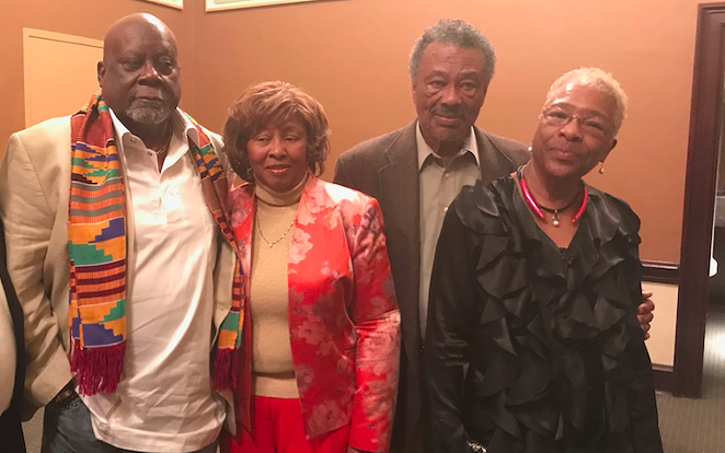 L-R: Fred Anderson, Kredelle Petway, MacArther Cotton, Barbara Bowie - LISA JACKSON