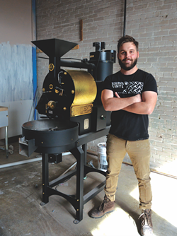 Eddie Laughlin of Shotgun House Roasters - JESSICA ELIZARRARAS