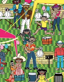 "Michael Menchaca, ""Vignettes of San Antonio"" (Ruiz-Healy Art)"