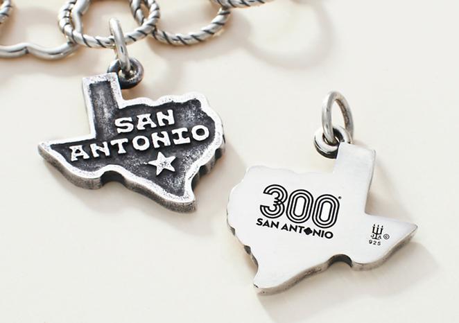 Tricentennial Commemorative San Antonio Charm, $60 - JAMES AVERY ARTISAN JEWELRY