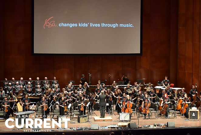 "YOSA performing at the Tobin Center for ""Abbey Road Live."" - JAMES GARZA"