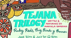 Marisela Barrera Experiments with Language and Space in Second Installment of 'Tejana Trilogy'