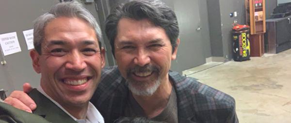 San Antonio Mayor Ron Nirenberg and Actor Lou Diamond Phillips Are Friends, Apparently