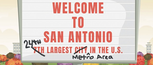 Numbers Game: Calling San Antonio the Seventh-Largest City Has a Nice Ring, But It Doesn't Reflect Reality