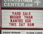 This San Antonio Church Has the Most Hilarious Marquee Signs