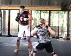 Video Shows Tim Duncan Kickboxing at San Antonio Fitness Center