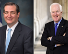 Cruz and Cornyn Clash on Senate Health Care Bill