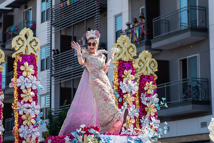 All the Festive People We Saw at the 2019 Battle of Flowers Parade