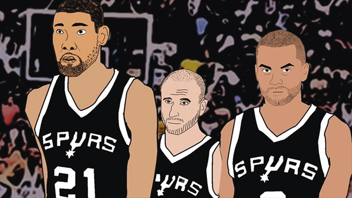 Those five titles? They're just a front. Taking down evil-doers like Phil Jackson and saving San Antonio is the Spurs' real job.