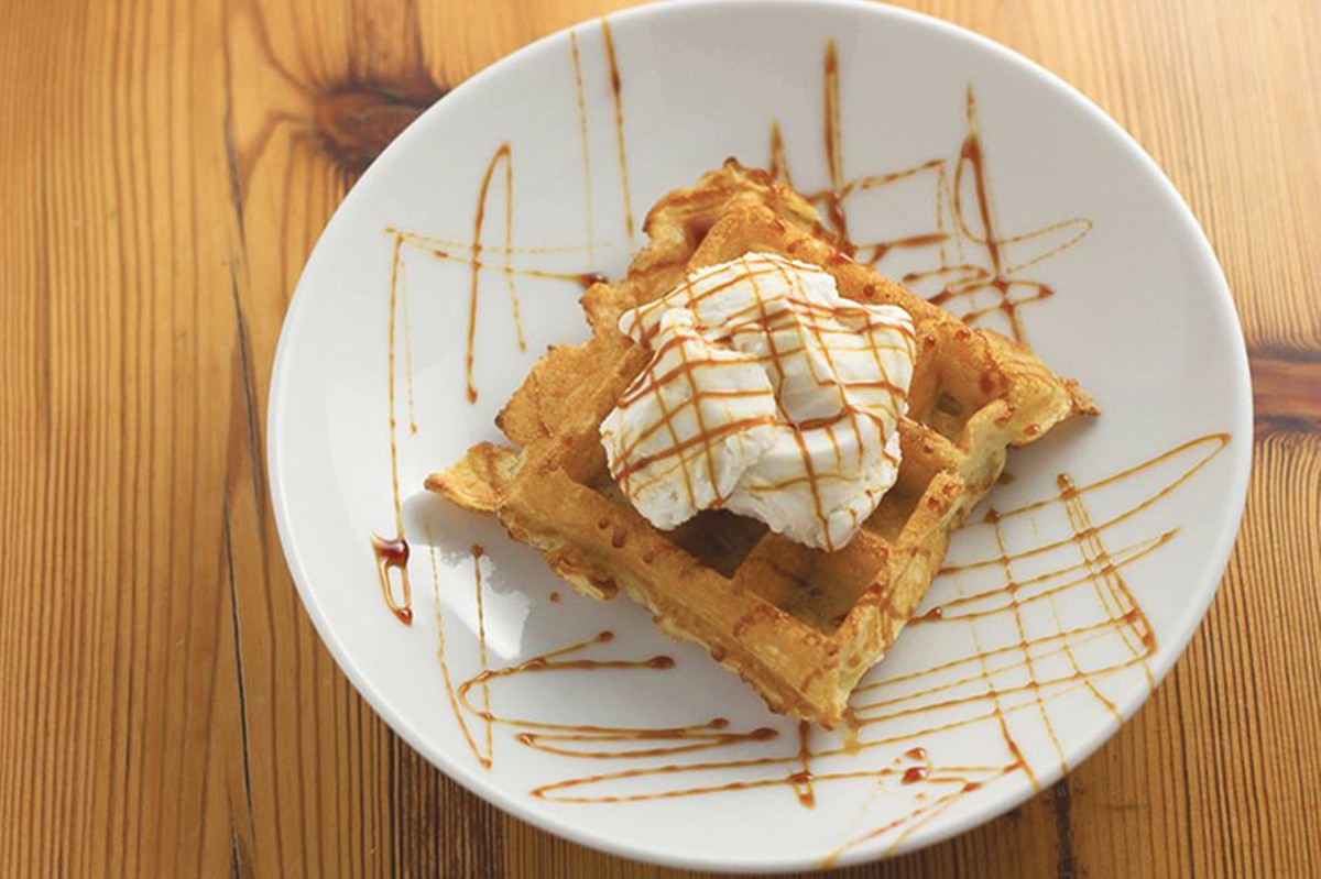 Don't miss these waffles.