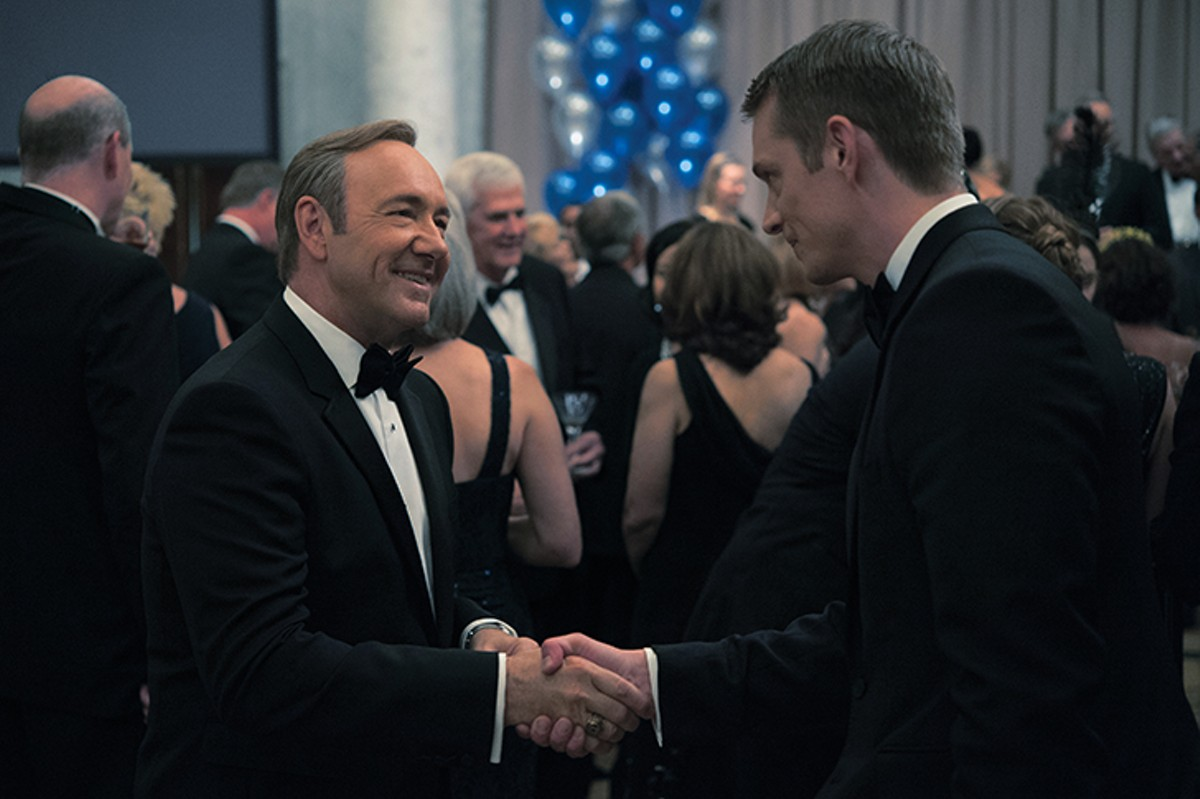 Glad-handing and backstabbing with President Francis Underwood