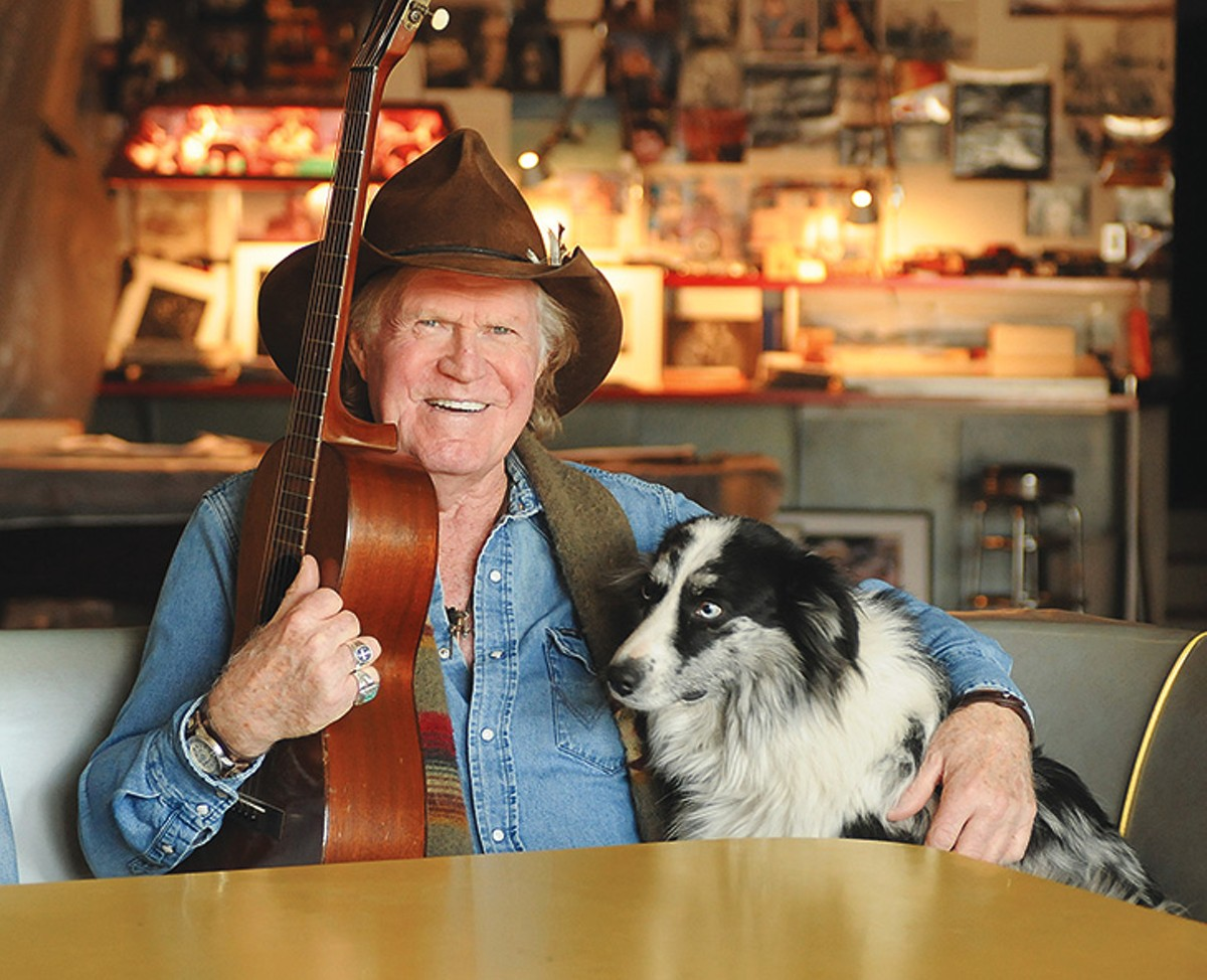 Billy Joe Shaver and man's best friend