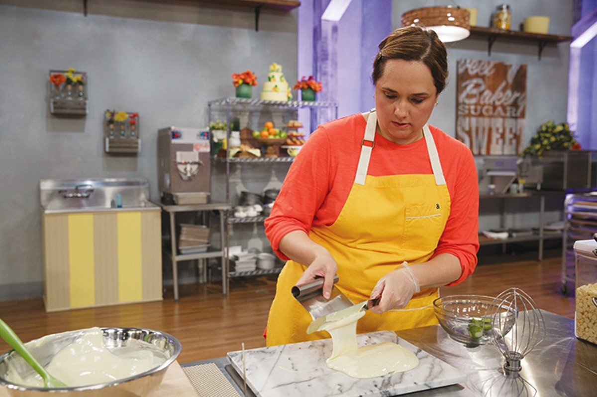 You can see more of Mijares in Spring Baking Championship this Sunday.