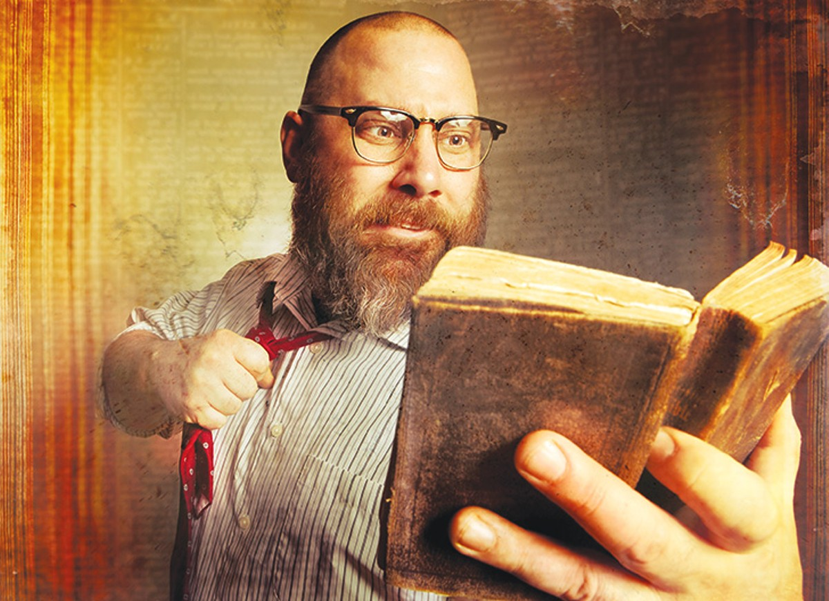 The wise and witty Sage Francis