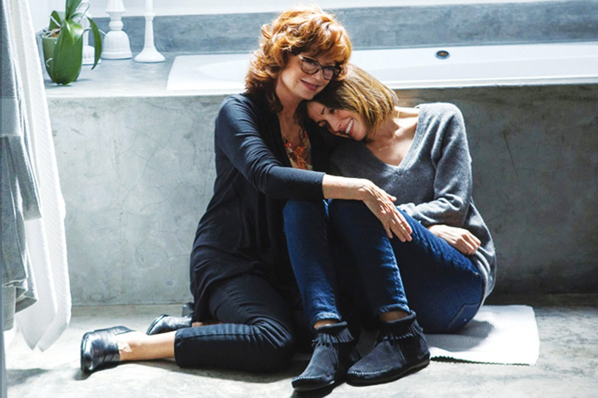 Estranged mother and daughter reunite in The Meddler.