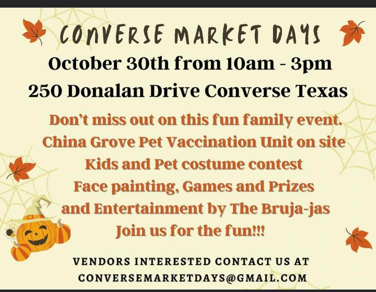 Converse Market Days