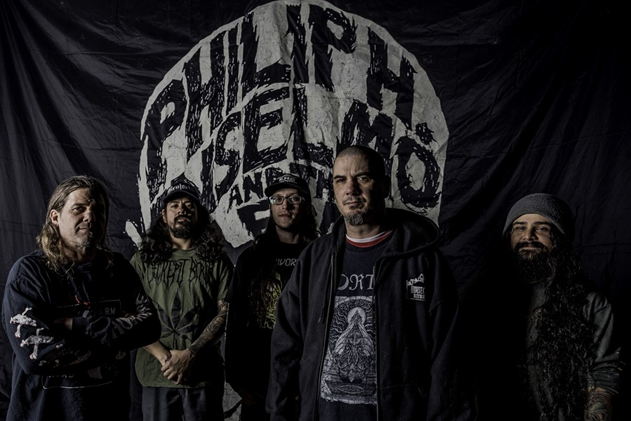 Philip H. Anselmo & the Illegals have pushed back a tour so Anselmo can rest up from back surgery. - VIA EARSPLIT PUBLIC RELATIONS' WEBPAGE