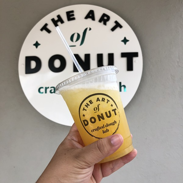 Pineapple refresher from The Art of Donut - JESS ELIZARRARAS