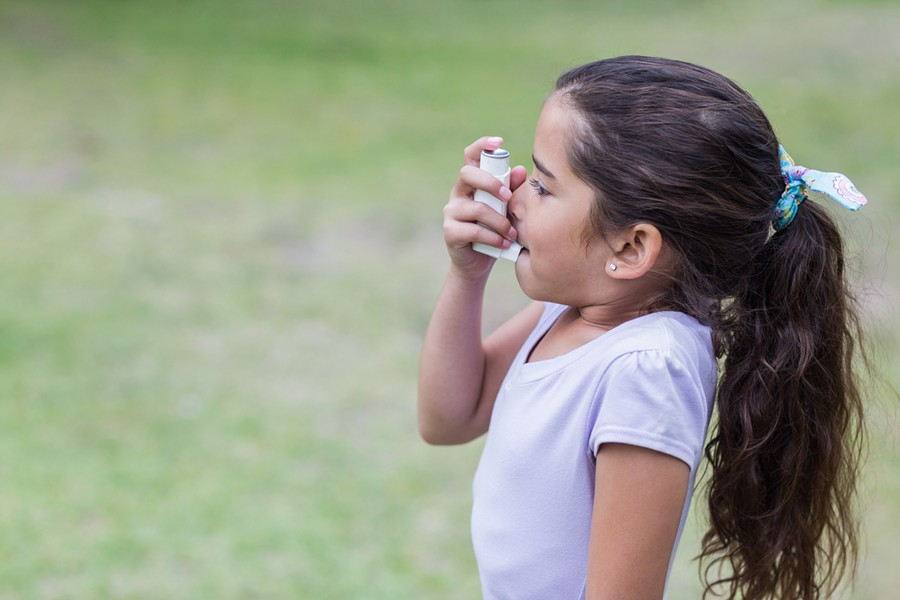 Bexar county's rate for childhood asthma hospitalizations are nearly double that of the state. - SHUTTERSTOCK