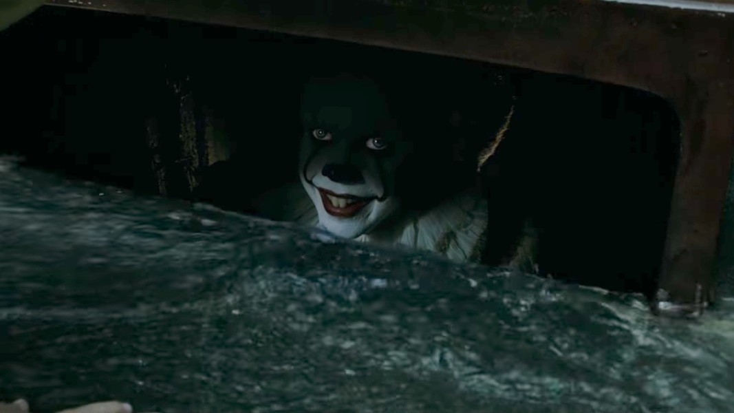 """We all float down here... Especially after it rains!"""