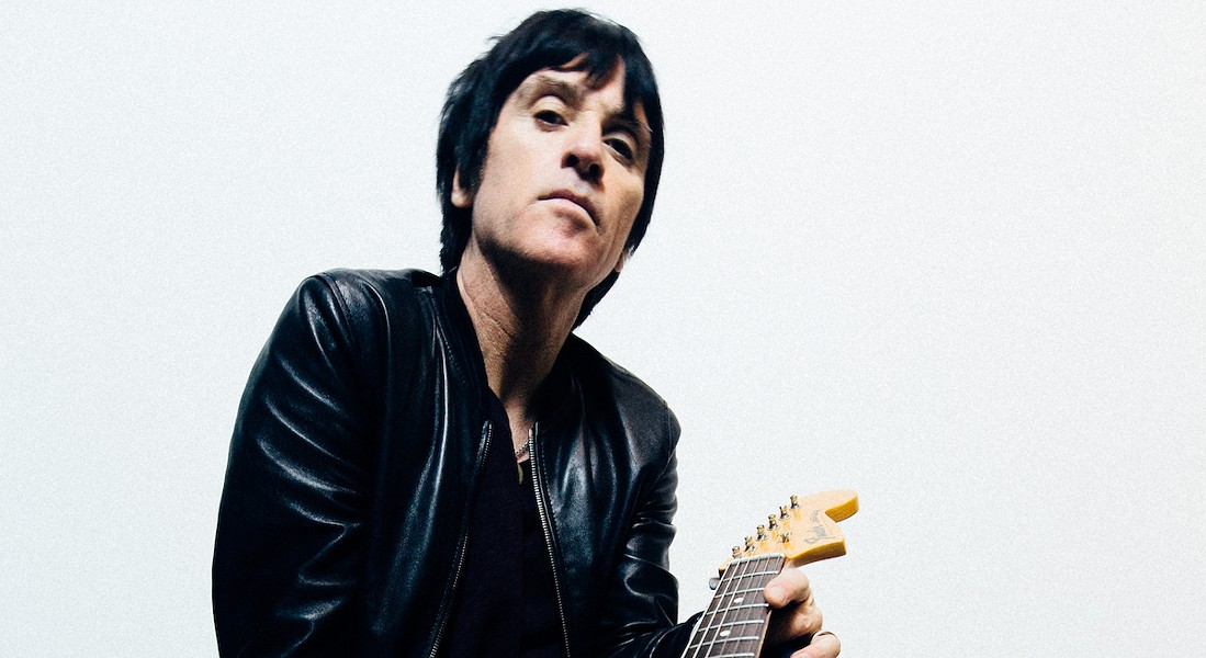 Johnny Marr, formerly of The Smiths, played Monday night at Paper Tiger. - GRAND STAND MEDIA