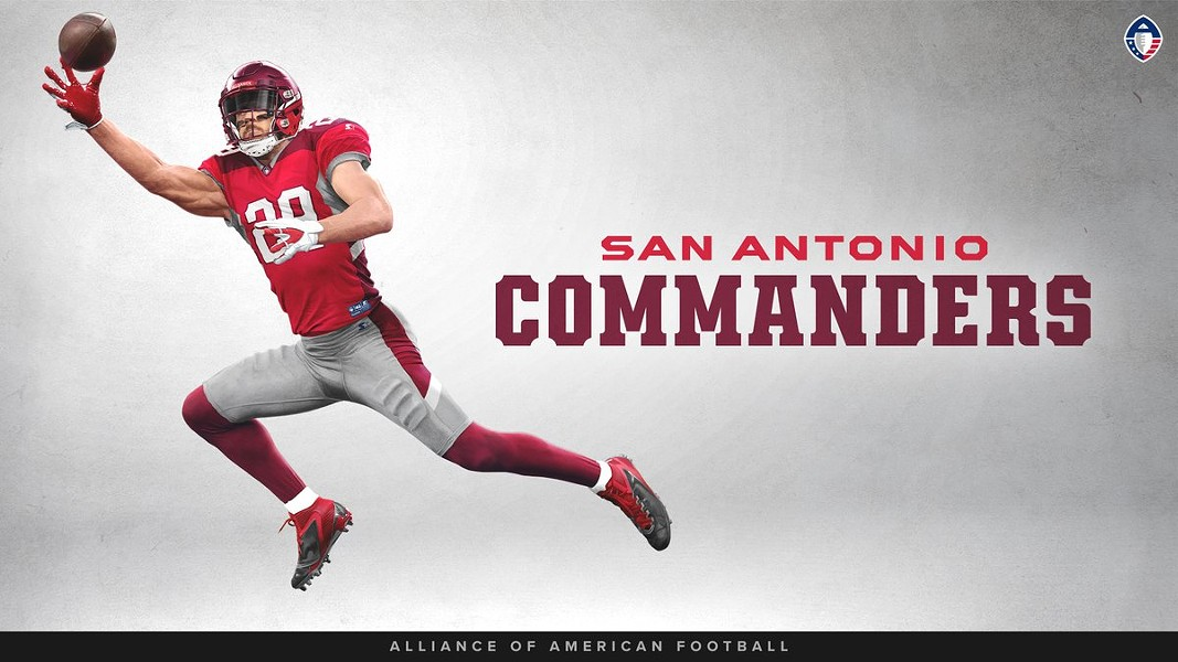 The San Antonio Commanders will be decked out in red and gray. - COURTESY PHOTO