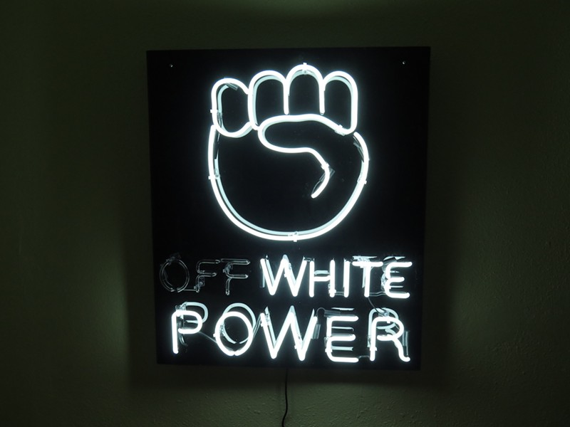 """Off-White Power"" - MARK ANTHONY MARTINEZ"