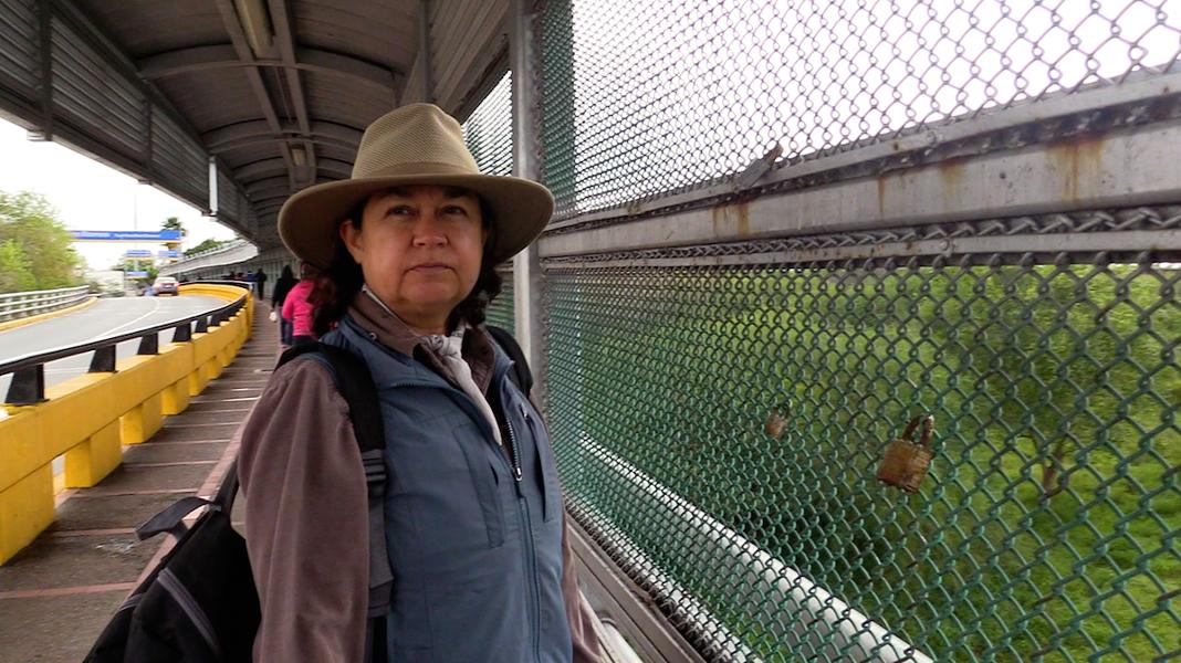 Elisa Filippone volunteers by providing aid to asylum seekers in Matamoros. - REBECCA CENTENO