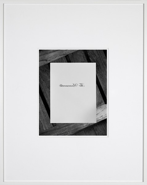 "Adan Schreiber, ""Copywork"" - COURTESY OF THE SOUTHWEST SCHOOL OF ART"