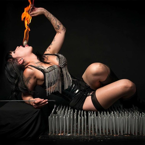 LE STRANGE SIDESHOW'S LITA DEADLY CAPTURED BY SPARX PHOTOGRAPHY