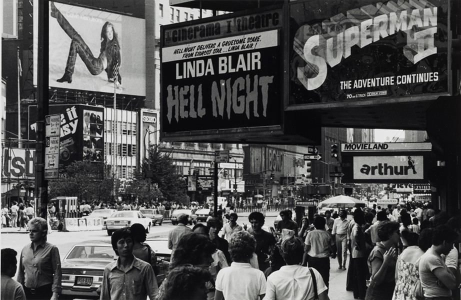 LOUIS CLYDE STOUMEN, HELL NIGHT, TIMES SQUARE, 1979