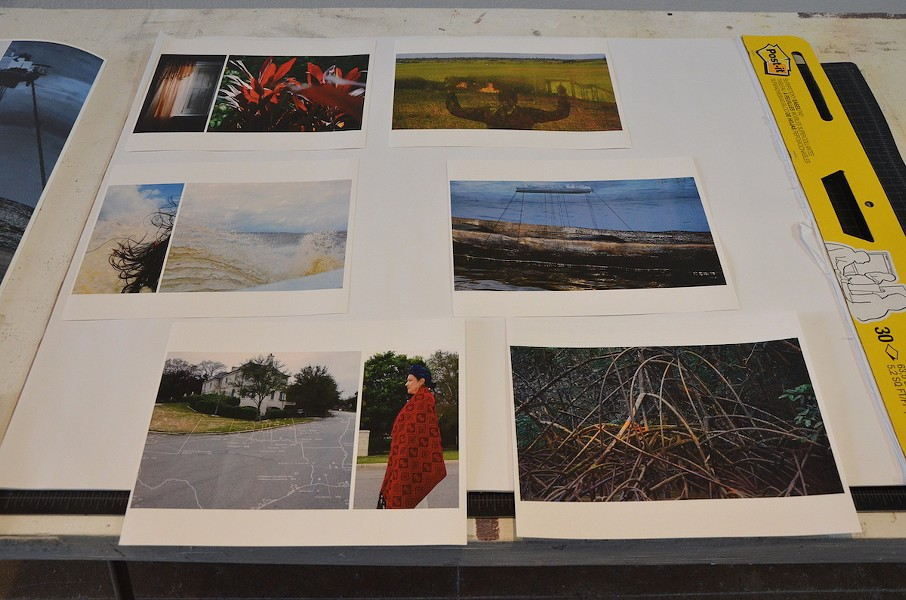 Photographs created by Roshini Kempadoo during her Artpace residency - BRYAN RINDFUSS