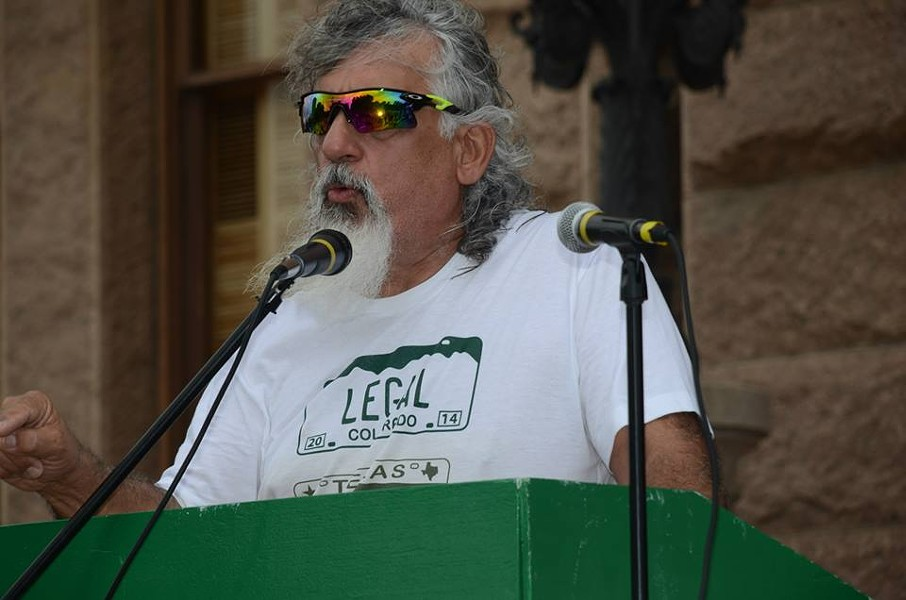 Attorney Jamie Balagia speaks at a 2015 marijuana legalization rally. - FACEBOOK / JAMIE BALAGIA